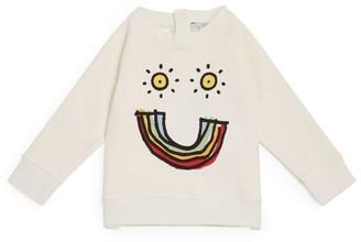 Stella McCartney Rainbow Smile Sweatshirt