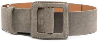 BA&SH Betty suede buckled belt