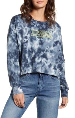 Tommy Jeans Tie Dye Dolman Sleeve Sweatshirt