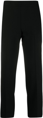 Love Moschino Cropped Cigarette Trousers