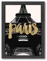 """Americanflat """"Paris Eiffel Tower"""" Framed Wall Art"""