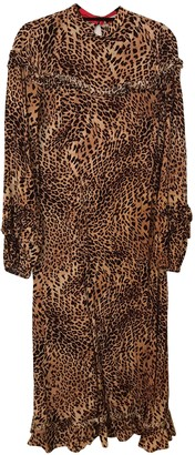 Gestuz Brown Viscose Dresses