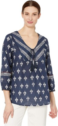 Tribal Women's Blouse Shirt Top Cotton Feminine Versatile