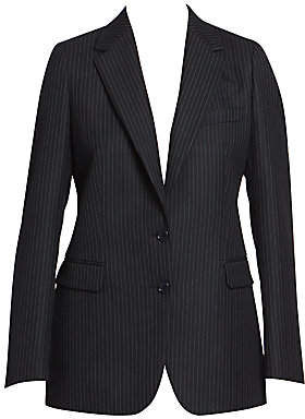 Dries Van Noten Women's Pinstripe Wool Blazer