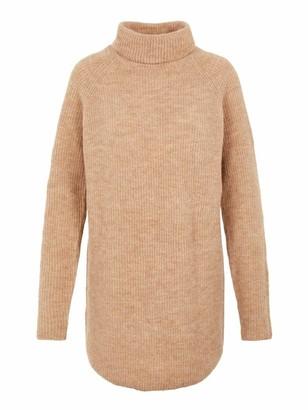 Pieces Women's PCELLEN LS Long Knit NOOS Sweater