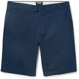 Todd Snyder Hudson Slim-Fit Wool-Twill Chino Shorts