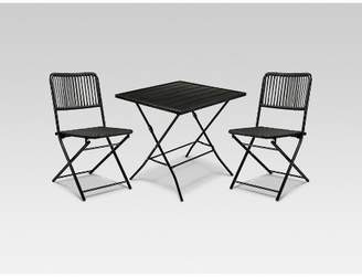 Modern Outdoor Project 62 Standish 3pc Patio Folding Bistro Set - Project 62TM