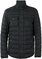 Moncler Faust padded jacket - men - Leather/Polyamide - 2