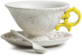 Seletti I-Wares Porcelain Tea Set - Yellow