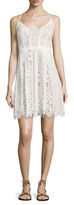 Plenty by Tracy Reese Directional Lace Flared Dress