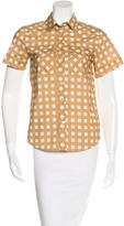Marc Jacobs Printed Button-Up Top
