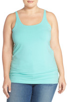 Sejour New Slim Strap Tank (Plus Size)