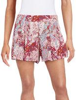 Jessica Simpson Izzy Splatter Soft Shorts