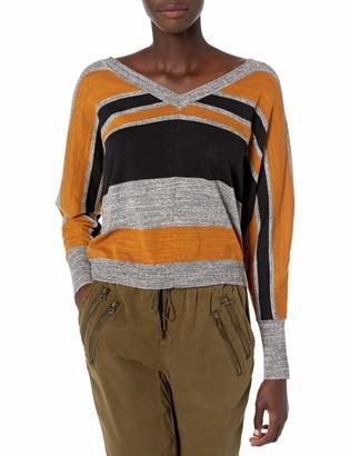 RVCA Junior's Carter V-Neck Sweater