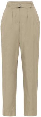 A.P.C. Sarah cotton-blend gabardine pants