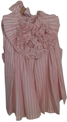 NO.6 STORE No 6 Store Pink Cotton Top for Women