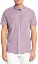 Ted Baker Spyeye Modern Slim Fit Gingham Sport Shirt