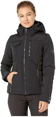 Obermeyer Leighton Jacket (Black) Women's Clothing