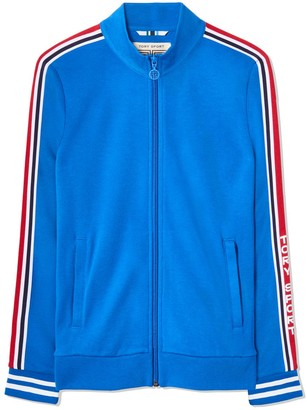 Tory Burch Wool-Blend Track Jacket