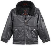 Hawke & Co Faux-Leather Bomber Jacket, Toddler Boys (2-7)