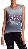 Junk Food Clothing Kiss Shout it Out Loud Graphic Tank