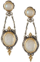 Konstantino Erato Mixed Labradorite Double-Drop Earrings