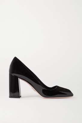 Prada 85 Patent-leather Pumps - Black