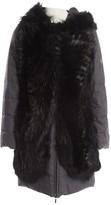 Fendi Grey Wool Coat for Women