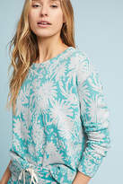 Sundry Floral Sweatshirt