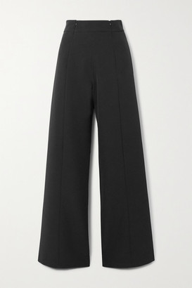 Marika Vera Lauren Crepe Wide-leg Pants - Black
