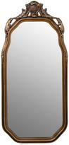 Rejuvenation Arched Mirror w/ Ornate Gilt Frame c1900