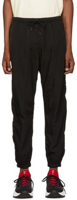 Marcelo Burlon County of Milan Black Cross Track Pants