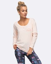 Roxy Womens Here I Come Again B Long Sleeve T Shirt