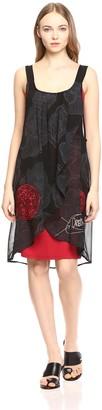 Desigual Women's Blackville Woven Dress Straps