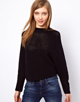 Asos Crochet Stitch Swing Jumper