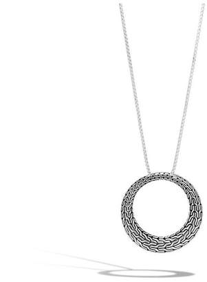 John Hardy Classic Chain Graduated Pendant Necklace