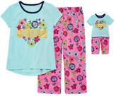 Asstd National Brand 2-pc. Pant Pajama Set Girls