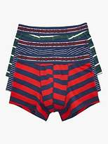 Joules Crown Joules Boxer Shorts, Pack of 3, Multi