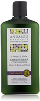 Andalou Naturals Full Volume Conditioner, Lavender and Biotin, 11.5 Ounce