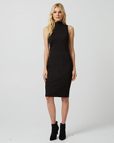 Le Château Ponte Mock Neck Sheath Dress