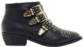 London Rebel Bang Stud Ankle Boot