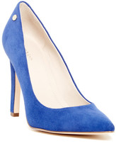 Calvin Klein Brady Suede Pointed Toe Pump - Wide Width Available