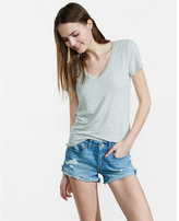 Express one eleven v-neck skimming tee