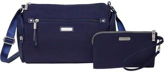 Baggallini Hobo Handbag w/ RFID Phone Wristlet