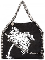 Stella McCartney palm tree embroidered Falabella tote