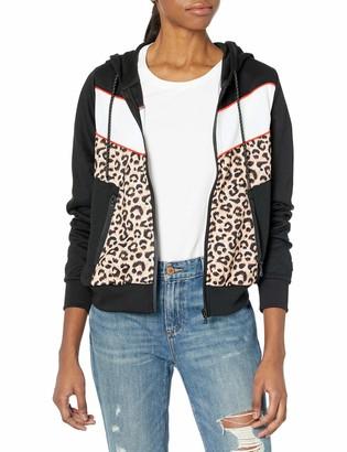 Southpole Women's Long Sleeve Hooded Tech Fleece Full Zip