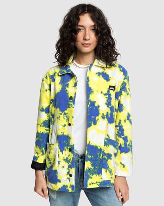Quiksilver Womens Burn Polar Fleece Jacket