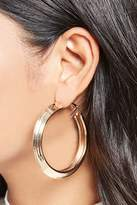 Forever 21 Pointed Hoop Earrings