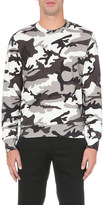 Sandro Warfare cotton-jersey sweatshirt