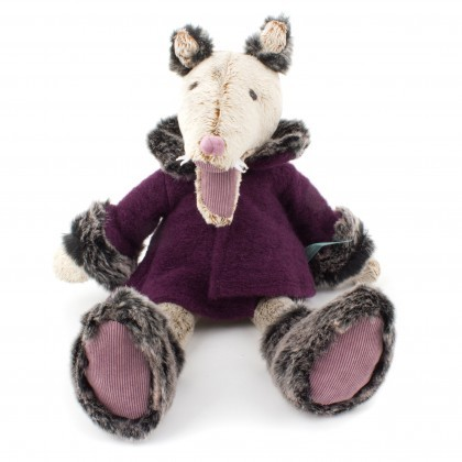 Moulin Roty Charles the Wolf soft toy